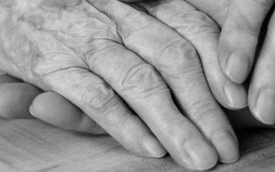 senior citizens aging hands